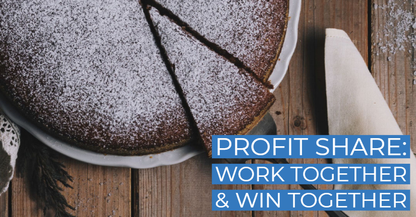 Profit share: Work together and win together