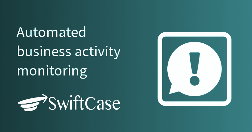 Automated business activity monitoring