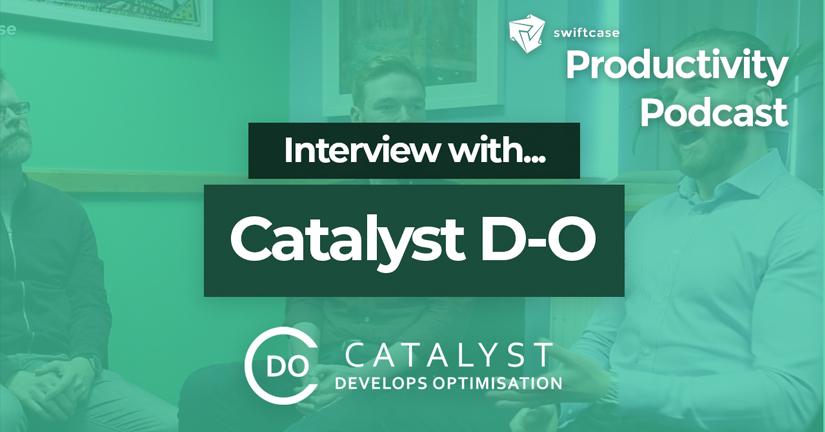 Interview with Catalyst D-O - SwiftCase Productivity Podcast #39