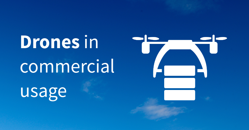 Drones in commercial usage