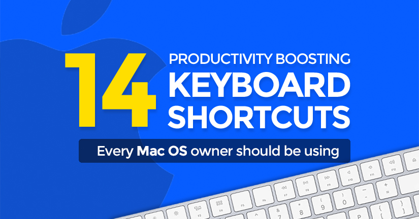 14 Productivity-boosting Mac keyboard shortcuts you NEED to use!