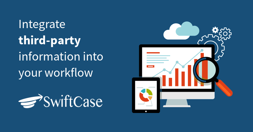 Integrate third-party information into your workflow