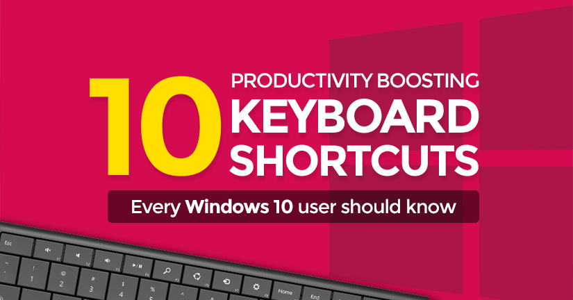 10 brilliant Windows 10 keyboard shortcuts to BOOST your productivity!