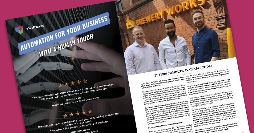 SwiftCase Featured in Latest Edition of Wirral Life Magazine