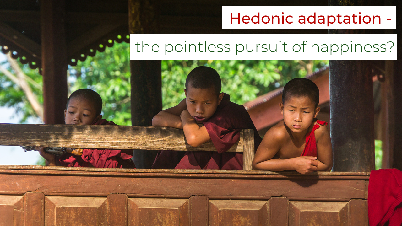 Hedonic adaptation - the pointless pursuit of happiness?